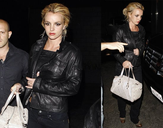 Photos of Britney Spears All in Black
