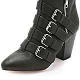 Rebecca Minkoff Buckle Booties ($295)