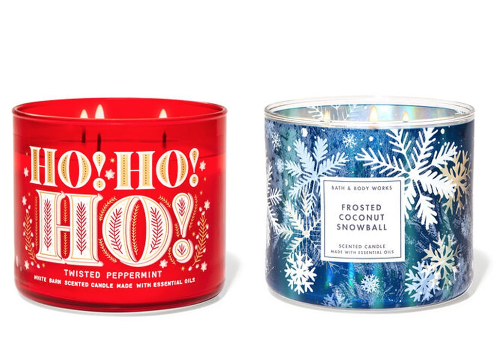 Bath & Body Works Holiday Candles 2020