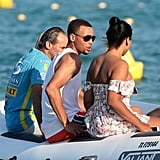 Ayesha and Stephen Curry in St. Tropez July 2016 | Pictures