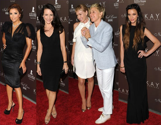 Pictures of Eva, Ashley, Ellen and Portia at Neil Lane event