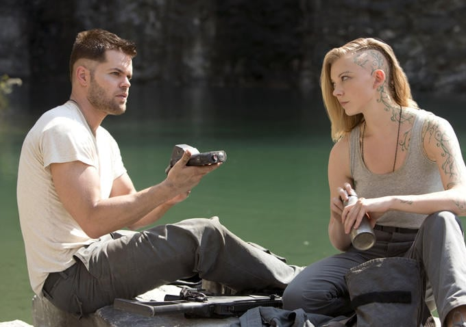 Castor (Wes Chatham) has a moment with Cressida.