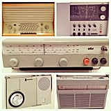 Portable and set-top radios had an emphasis on clean, simple hardware.