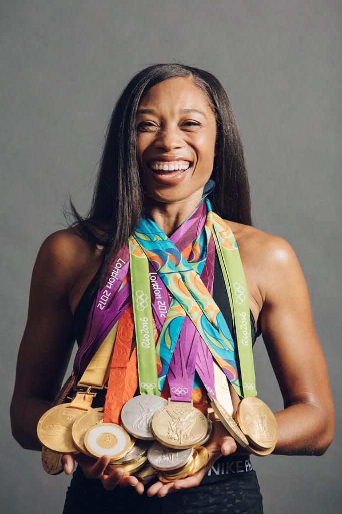 Allyson Felix's Tokyo Olympics Strength-Training Exercises