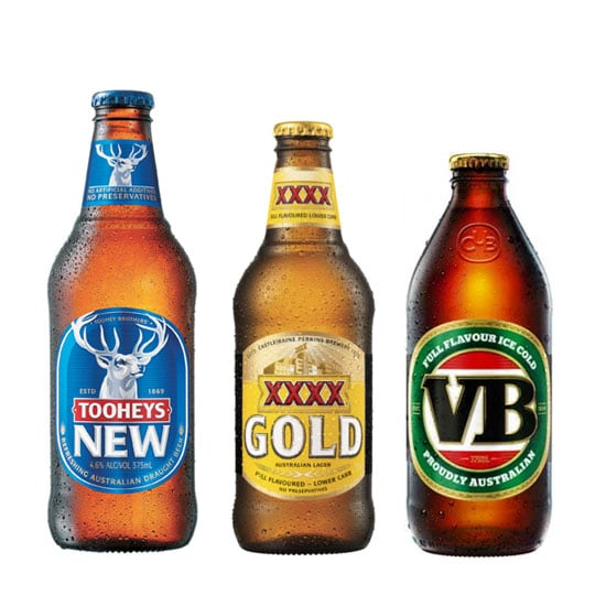 The Calories in Australia's Most Popular Beers