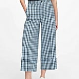 Japan Exclusive High-Rise Wide-Leg Cropped Pant