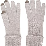 N.PEAL Cable Knitted Gloves ($112, originally $131)