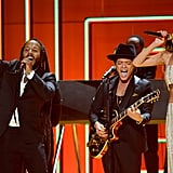 Rihanna, Bruno Mars, and Ziggy Marley performed together.