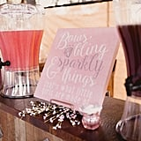 Pink and Gold Baby Shower Ideas