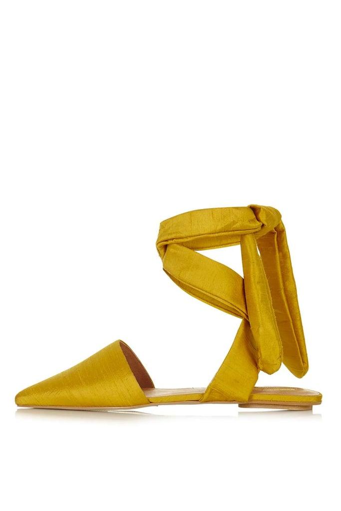 Topshop Khloe Ankle-Tie Shoes ($100)