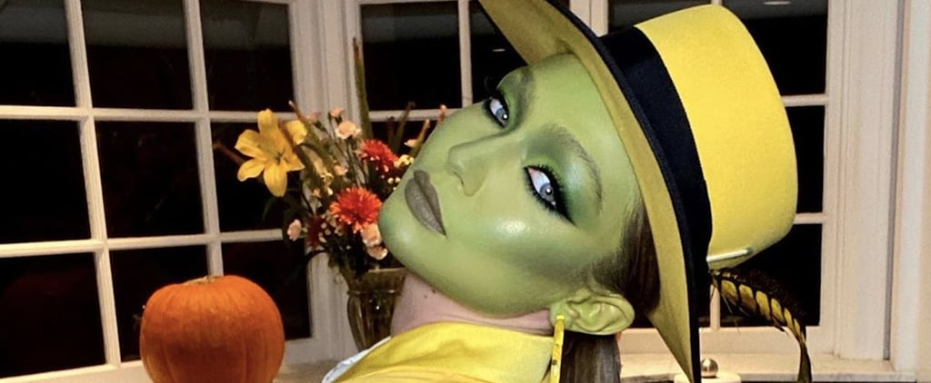 Gigi Hadid's The Mask Halloween Makeup