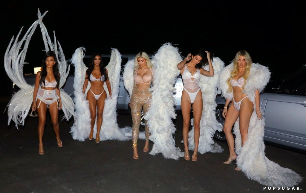 The Kardashians Victoria's Secret Angels Halloween Costumes