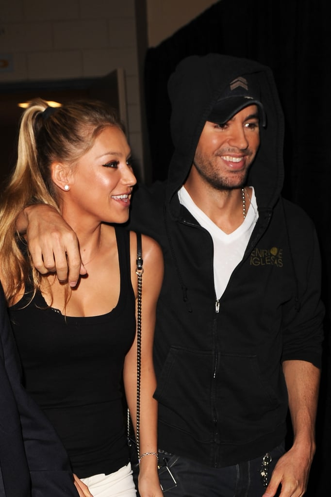Anna Kournikova Sings Along to Enrique Iglesias Songs