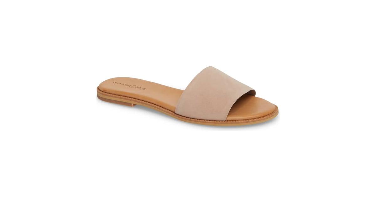 fed0c447747 Treasure   Bond Mere Flat Slide Sandal