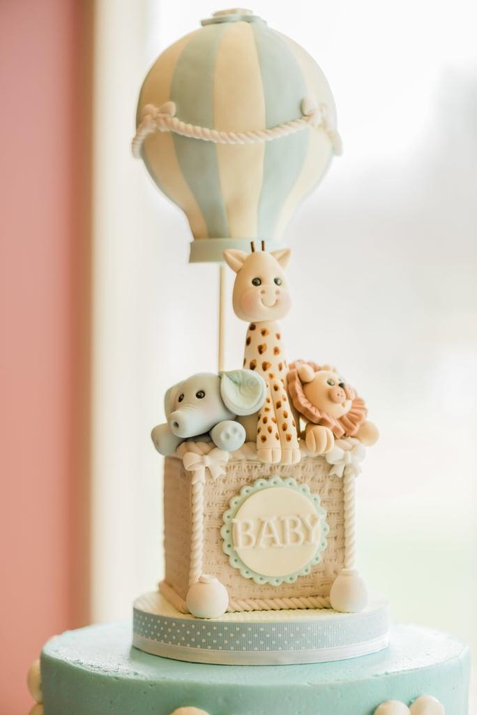 Baby Balloon Cake