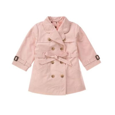 Pink Trench Coat $64