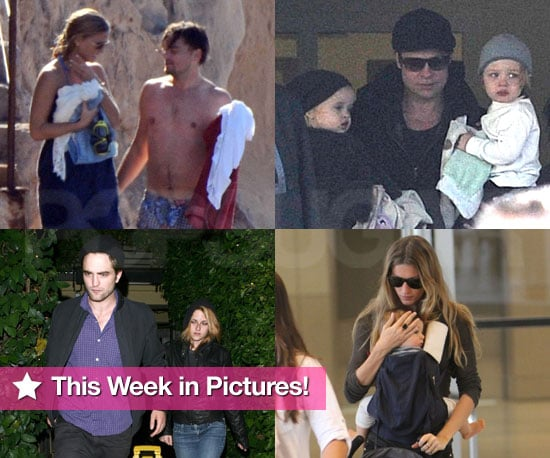 Pictures of Gisele Bundchen With Ben, Tom Cruise and Leonardo DiCaprio Shirtless, Robert Pattinson and Kristen on a Date