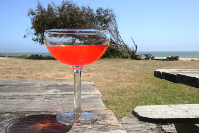 Field Strawberry-Infused Corpse Reviver #2