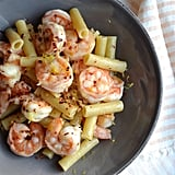 Pasta With Gambas al Ajillo