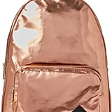 Madden-Girl Rose Gold Orbit Metallic Backpack