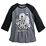 Hitchhiking Ghosts YesterEars Haunted Mansion Raglan Baseball T-Shirt ($28)