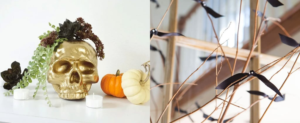 6 Halloween Decor DIYs You Can Make in Less Than 10 Minutes