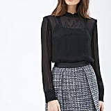Forever 21 Contemporary Embroidered Peasant Blouse ($25)