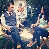 Matthew McConaughey sat for interviews for his upcoming film, Killer Joe. Source: Instagram user iamcattsadler