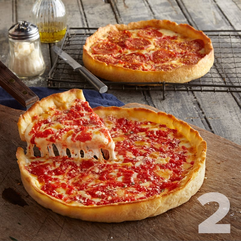 Chicago Deep Dish Pizzas