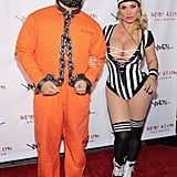 Coco Austin as a Referee and Ice T as a Prisoner