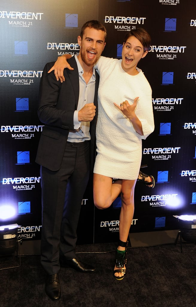 Shailene at the Atlanta Divergent Screening