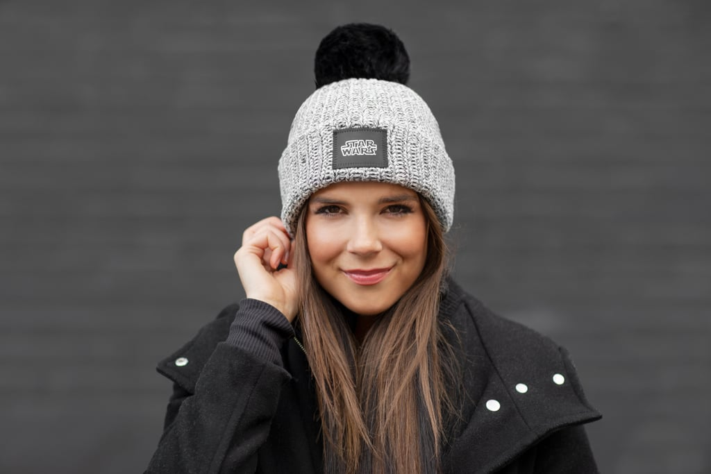 Love Your Melon Adult Star Wars Black Speckled Pom Beanie