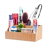 MobileVision Bamboo Bathroom Tray Caddy Organizer