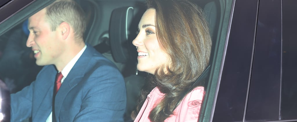 Kate Middleton Pink Dress at Queen's Christmas Lunch 2018