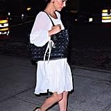ناتالي-بورتمان-فستان-أبيض-في-مدينة-نيويورك