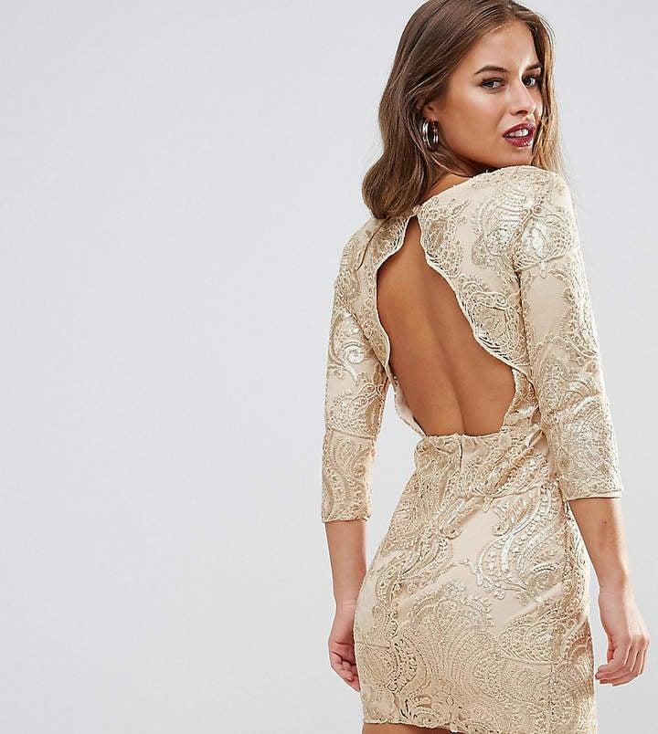TFNC Allover Sequin Dress
