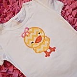 2 Hip Chix Designs Easter Chick Shirt