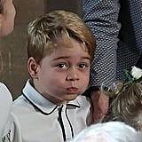 When George Was in His Own World at Jack and Eugenie's Wedding