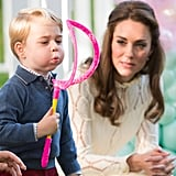When Prince George Played With Bubbles