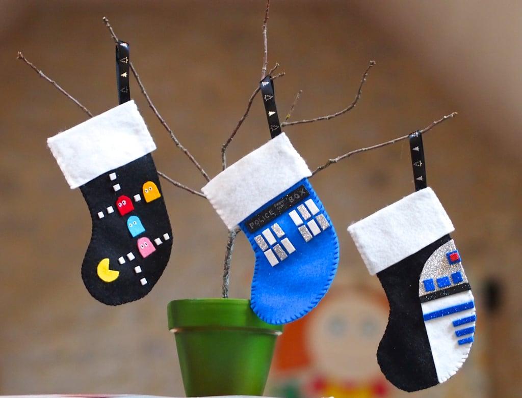 . Geeky Stockings   Geeky Christmas Decorations   POPSUGAR Tech Photo 8