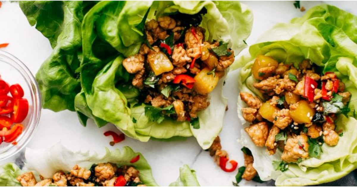Get Ready to Go Crazy Over These Low-Carb, Keto-Friendly Chicken Lettuce Wrap Recipes