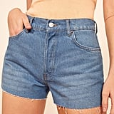 Reformation Dixie High-Rise Jean Shorts