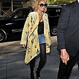 Nicole in a Winter Kate kimono top — get her look now!