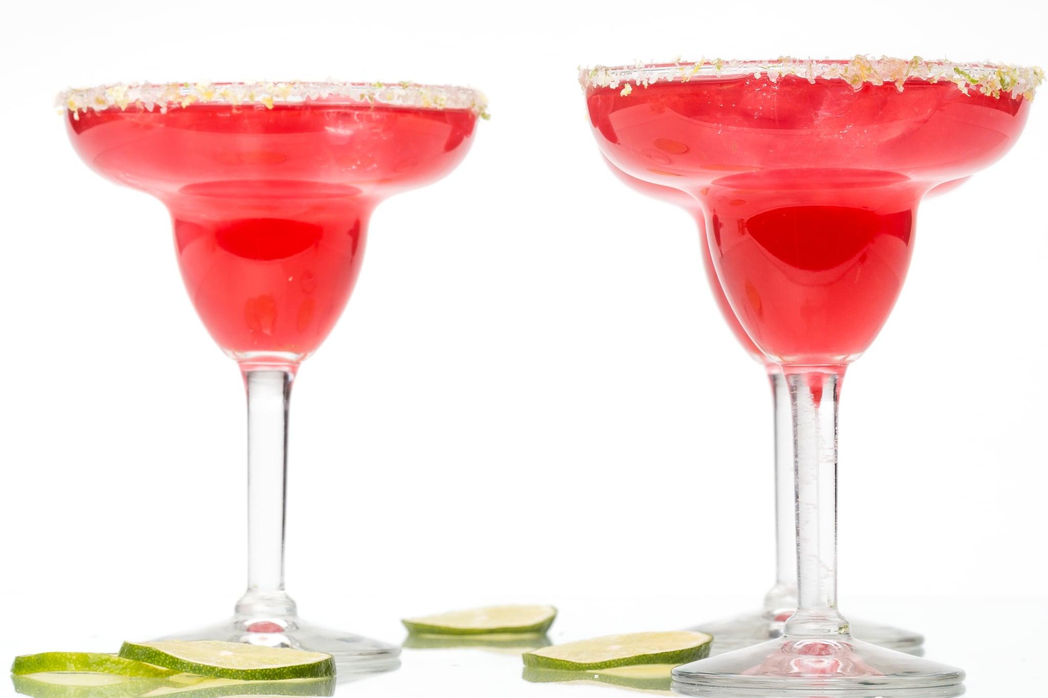 Hibiscus Margarita Recipe With Tea Simple Syrup | POPSUGAR ...