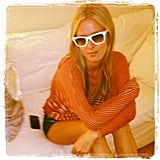 Nicky Hilton showed off a new blond 'do. Source: Instagram user nickyhilton