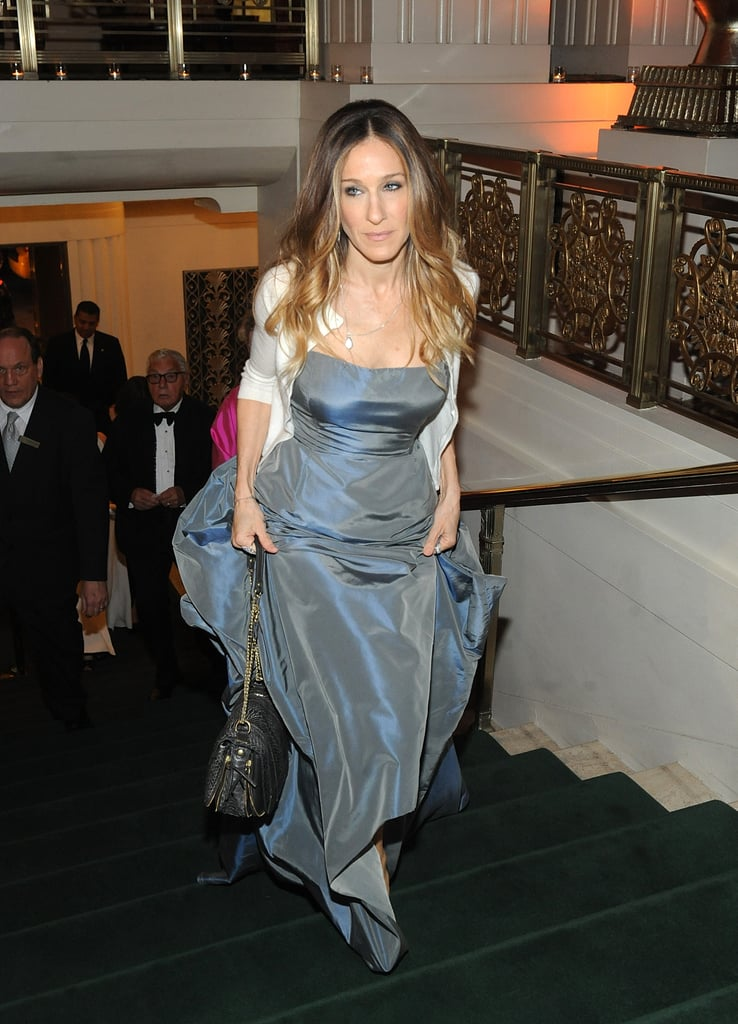 Sarah Jessica Parker honored Bill Cunningham at the Carnegie Hall Medal of Excellence gala at NYC's Waldorf-Astoria.