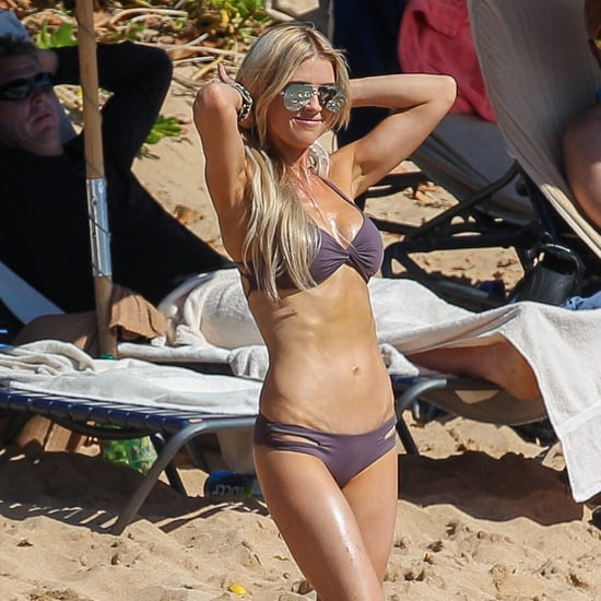 Christina El Moussa Wearing Bikini in Hawaii April 2017