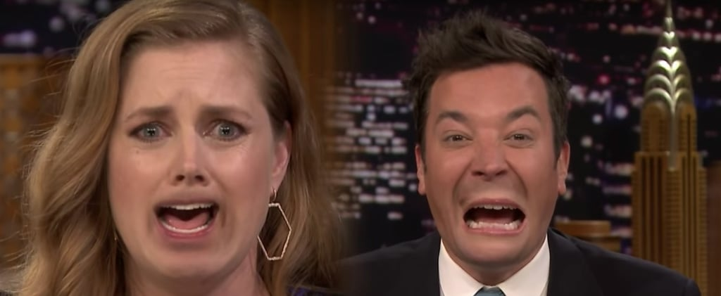 Amy Adams Lip Flip Video With Jimmy Fallon
