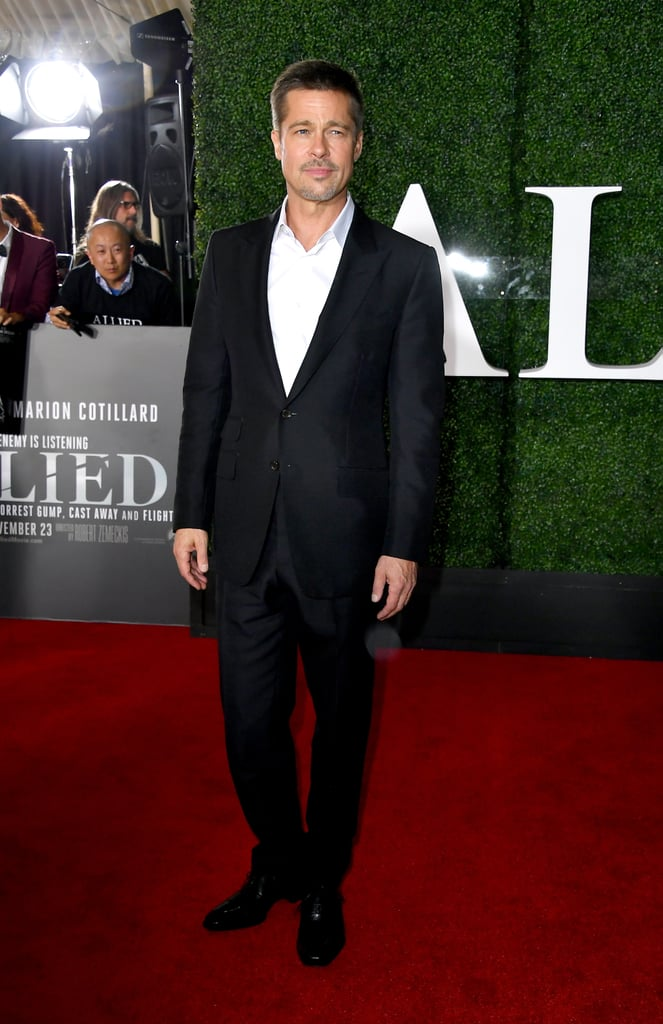 Brad Pitt at Allied LA Premiere Pictures 2016 November