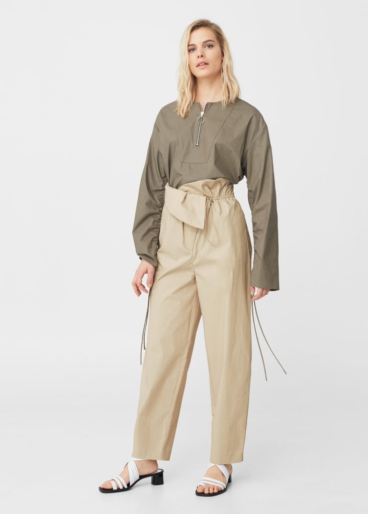Models Kendall and Gigi are fans of the paperbag waist trousers, so scoop one up from Mango ($100) just in time for Spring.
